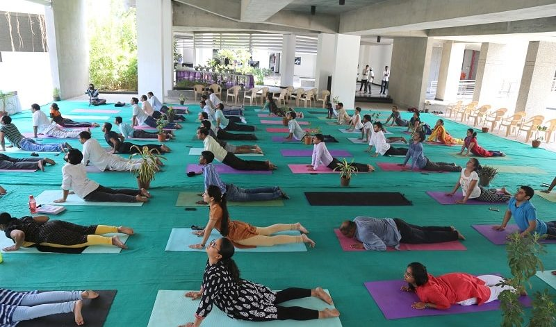 International Day of Yoga at IIT Gandhinagar, 21 June 2018